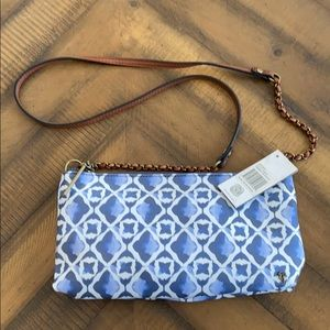 New Elliott Lucca Artisan Crossbody Clutch Bag